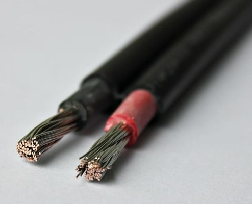 XLPE Jacket Flat Twin Core Electrical Cable 2.5mm2
